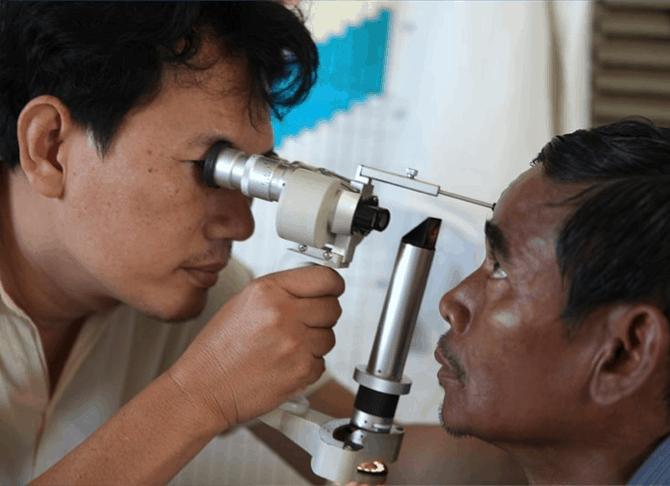 Cambodja Kratie staar controle