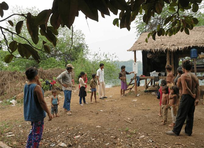 Cambodja Provincie Mondulkiri