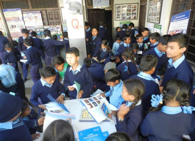 Schoolkinderen-Nepal