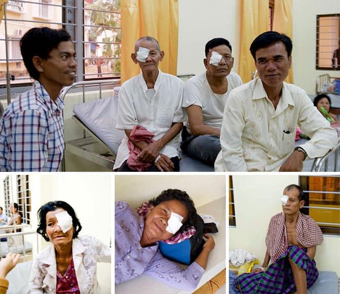 Patiënten Cambodja